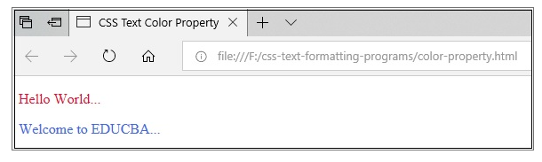 CSS Text Formatting1