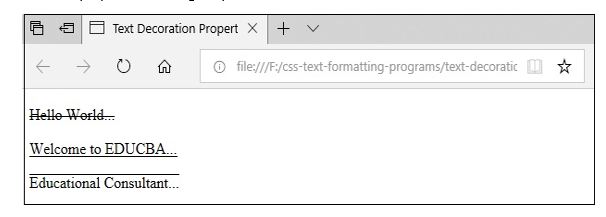 CSS Text Formatting3