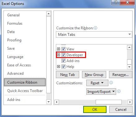 Checklist in Excel 2.2