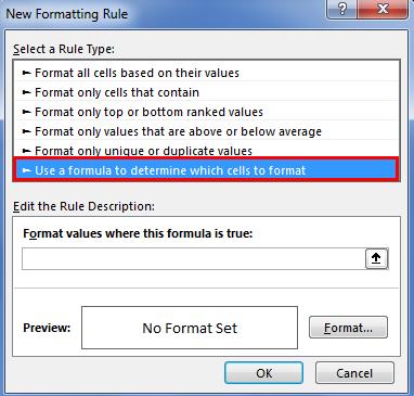 Checklist in Excel 3.4
