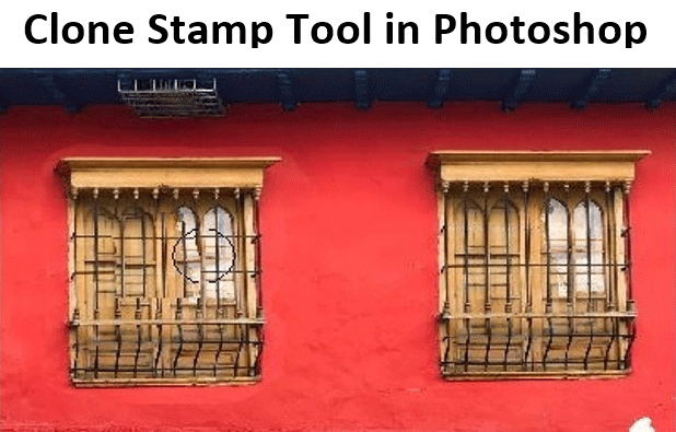 Clone Stamp Tool in Photoshop