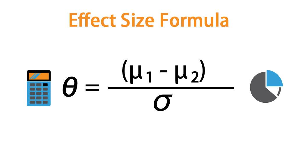 Effect Size Formula