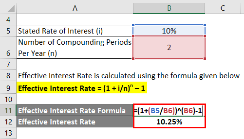 Effective Interest Rate Formula-1.2