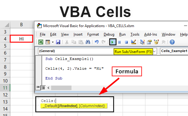 Excel VBA Cells