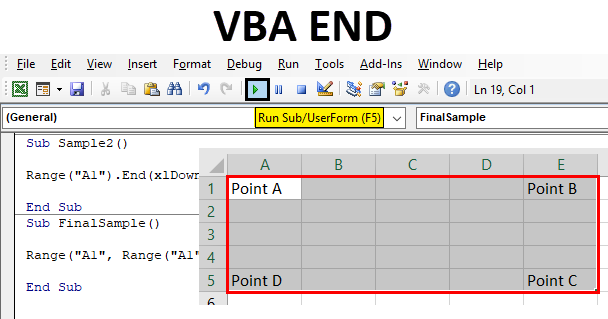 VBA END | How to Use VBA END Function in Excel?