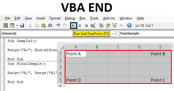 Excel VBA End