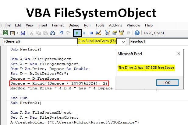 Excel VBA FileSystemObject