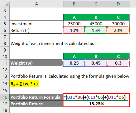 Expected Value Formula Example 2-3