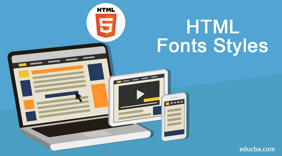 HTML-Fonts-Styles