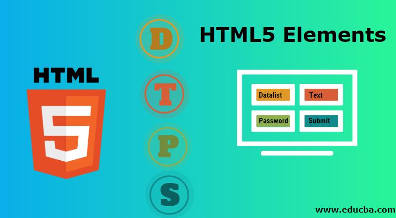 HTML5 Elements