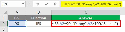 IFS function 1