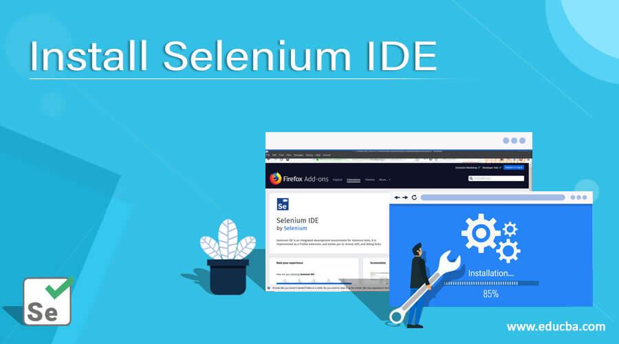 Install Selenium IDE