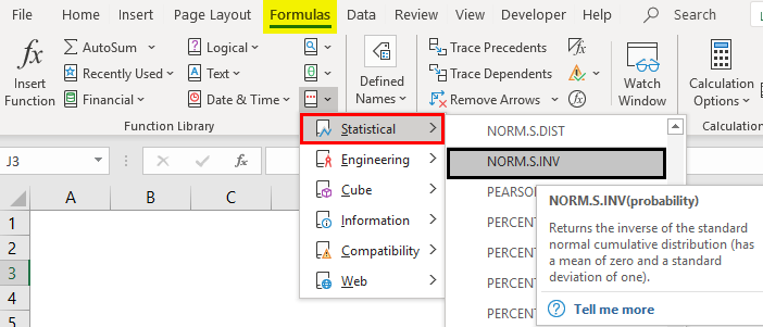 Excel NORMSINV | How to Use NORMSINV Formula in Excel?