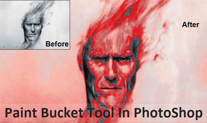 Paint Bucket Tool in Photoshop