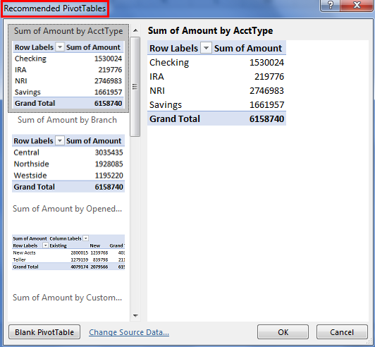 Pivot Table Examples 1.3