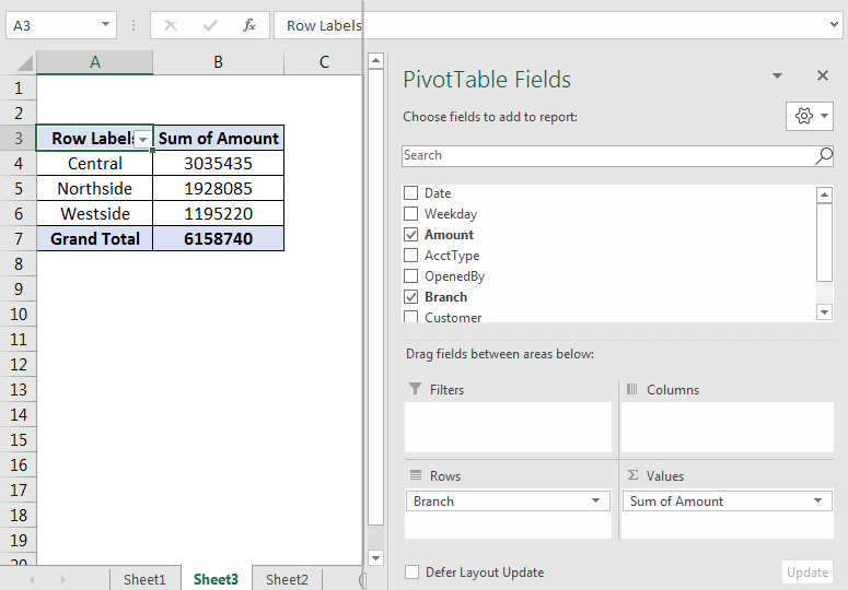 Pivot Table Examples 1.4