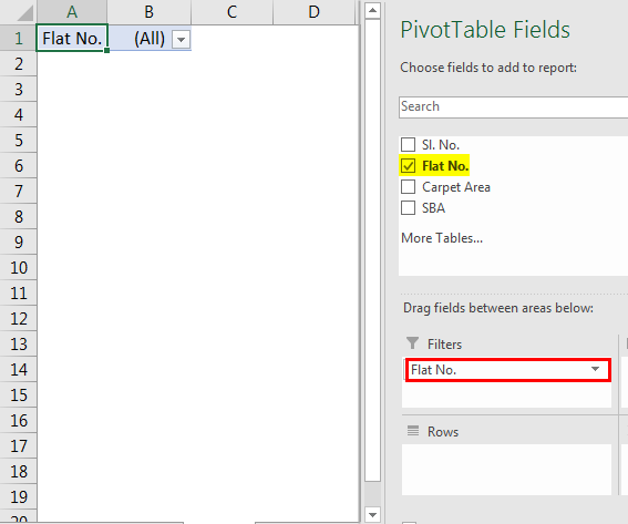Pivot Table Filter 1.5