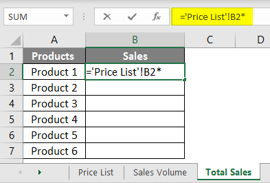 Product and Price example 1.5