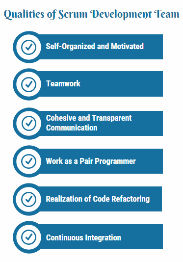 Qualities of Scrum Development Team