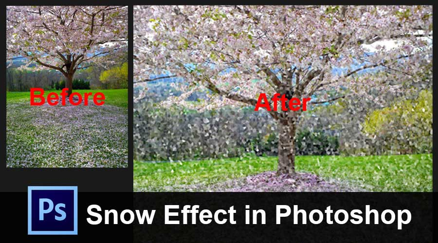 Snow-Effect-in-Photoshop