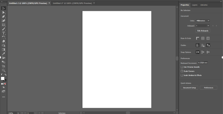 Step 1 3D text