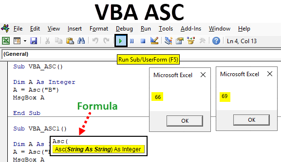 VBA ASC