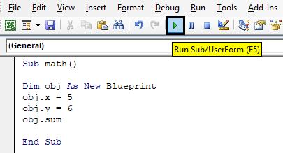 Run the Code Example 1-9