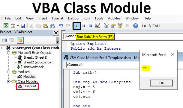 VBA Class Module
