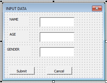 VBA Close UserForm Example 2-1
