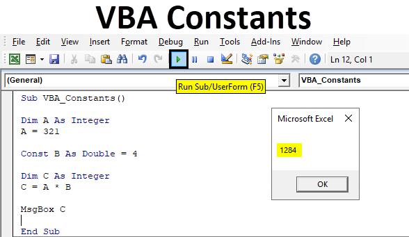 VBA Constants