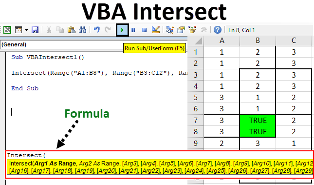 VBA Intersect | How to Use Excel VBA Intersect Function ...