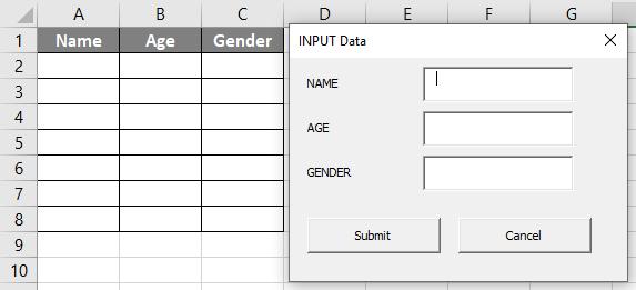 VBA UserForm Example 2-23