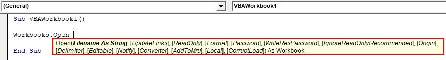 VBA Workbook Example 1-4