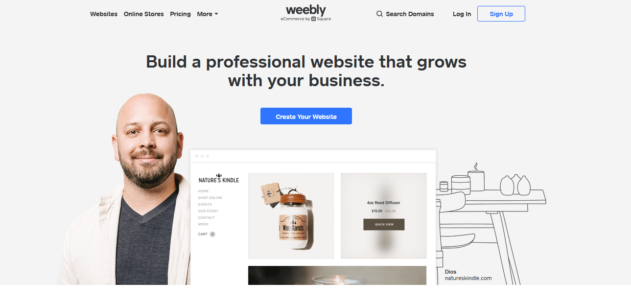 Weebly -free hosting website
