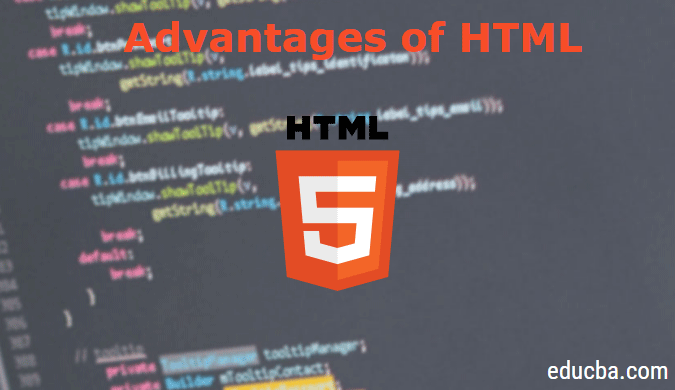advantages of html