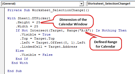 insert calendar example 2-6