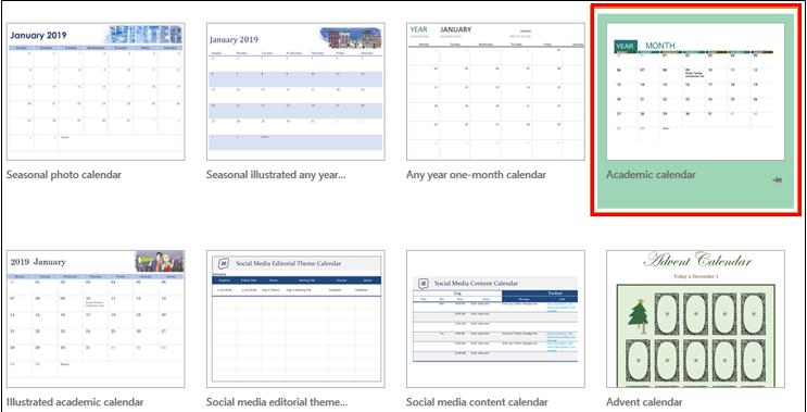 insert calendar in excel 1-4