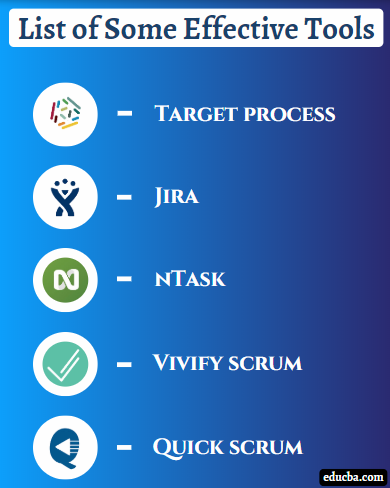 list of scrum tools