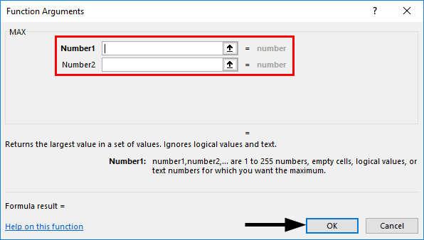selecting the reference