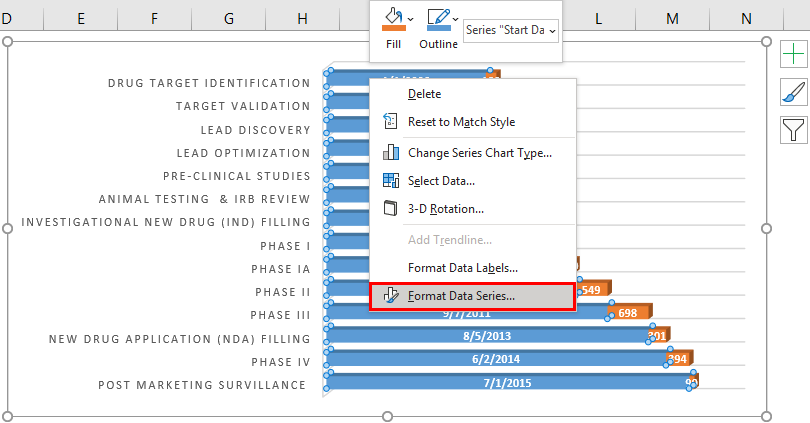 roadmap template in excel 2-5