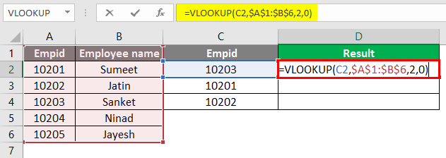 vlookup function 1