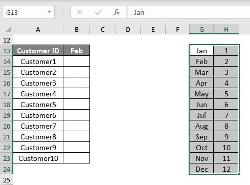 Complex Formulas in Excel 1.2