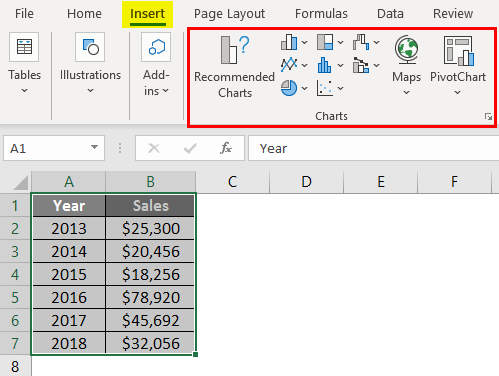 Change Chart Style in Excel 1-2