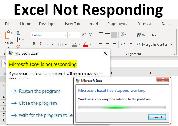 Excel Not Responding