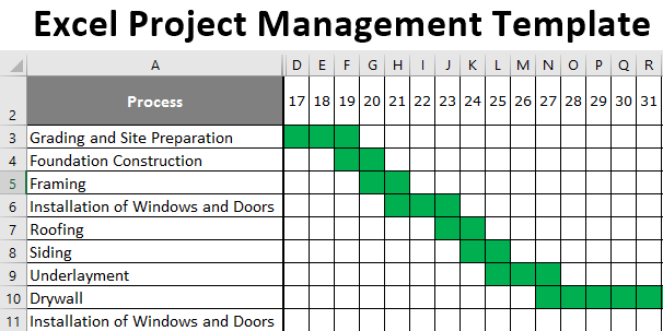 Excel Project Management Template