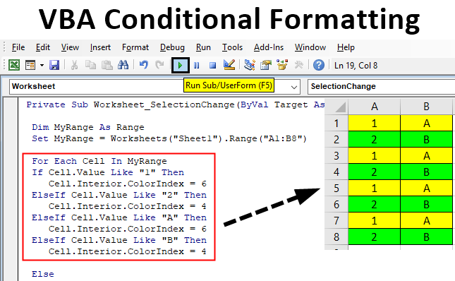 Excel VBA Formatting