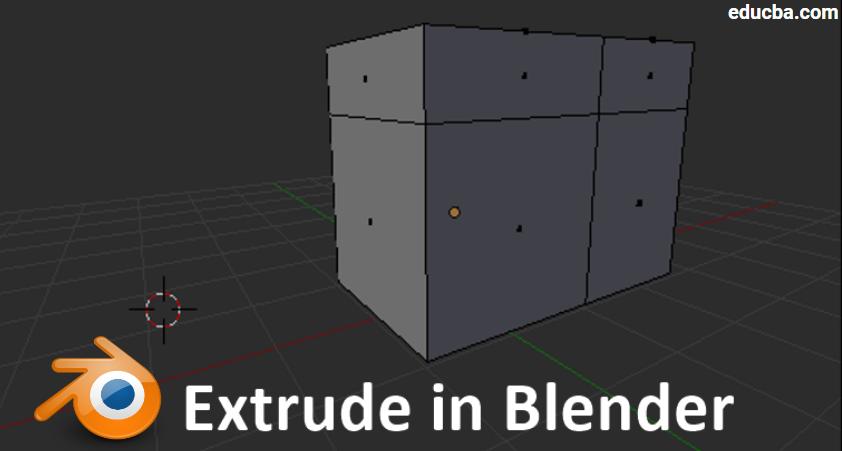 Extrude Blender Step