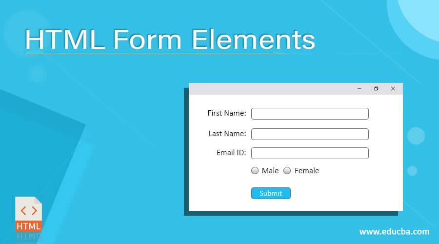 HTML Form Elements