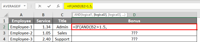 IF With AND & OR Function 1.3