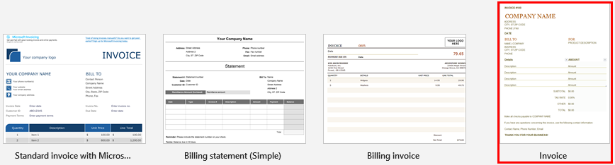 Invoice Template In Excel How To Create Invoice Template In Excel